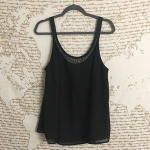Lane Bryant Swing Tank with Silver Accents